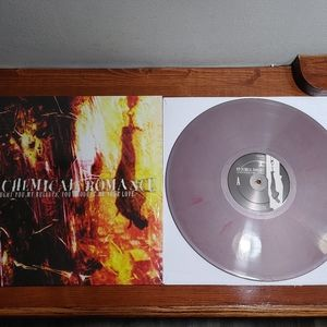 My chemical romance colored Vinyl record